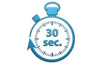 30 seconde chrono
